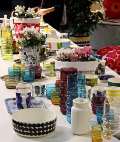 Note to self: I also like the new Marimekko-collection, even though main ingedients in my collection of china will be Royal copenhagen mega ;)