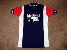 Vintage Kirtland cycling jersey