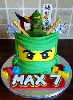 Ninjago Cake Everything is hand sculpted and completely edible Ninja Birthday Cake, Ninja Cake, Ninja Birthday Parties, Harry Birthday, Boy Birthday, Bolo Ninjago, Lego Ninjago Cake, Ninjago Party, Festa Ninja Go