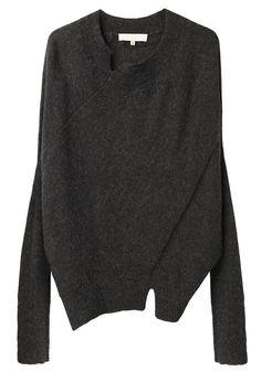 VANESSA BRUNO | Seam Detailed Sweater | Shop at La Garçonne