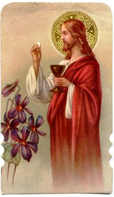 "For I received from the Lord what I also handed on to you, that the Lord Jesus on the night when he was betrayed took a loaf of bread, and when he had given thanks, he broke it and said, ""This is my body that is for you. Do this in remembrance of me.""  In the same way he took the cup also, after supper, saying, ""This cup is the new covenant in my blood. Do this, as often as you drink it, in remembrance of me.""  -1Corinthians 11:23-25(NRSC)"