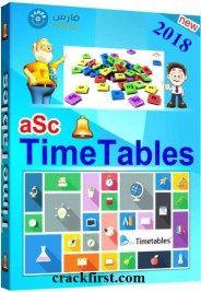 aSc TimeTables 2018 Crack Plus Keygen Free Download