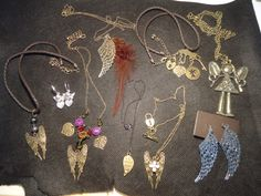 Angel necklaces~~ Which would you choose?