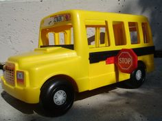 Fisher price school bus. Contains the GREEN WHEELCHAIR; Michael ...