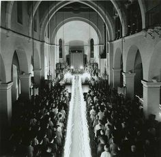 Candellight Procession, Knowles Memorial Chapel, 1960 by Rollins College, via Flickr