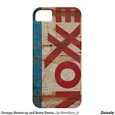 Grungy, Beaten up and Rusty Exxon Sign Barely There iPhone 5 Case