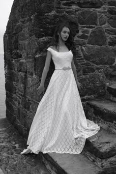 Wedding dress by Christine Trewinnard