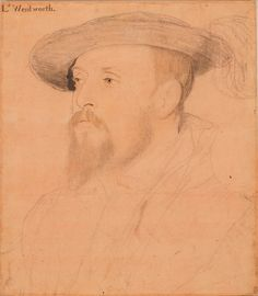 Thomas, 1st Baron Wentworth (1501-1551) ~ I'm fascinated by the strangeness of their eyes...