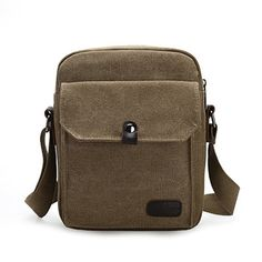Vintage Casual Canvas Crossbody Bag Big Capacity Multifunctional Shoulder Bag For Men  Worldwide delivery. Original best quality product for 70% of it's real price. Hurry up, buying it is extra profitable, because we have good production sources. 1 day products dispatch from...
