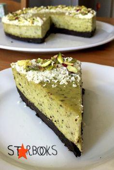 Starbooks Cheesecake cioccolato bianco e pistacchi