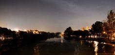 Vista da ponte  Ademar de Barros /  Guaratinguetá - Brasil