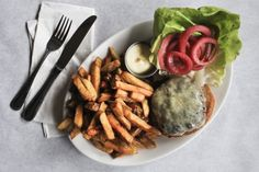 How to Make Brooklyn's Diner Restaurant's Burger, Fries, and Lemon Mayonnaise at Home - Bon Appétit