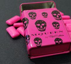 Alexander McQueen Luxury Chewing Gum by Paul Stiven
