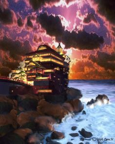 Bath House from Spirited Away
