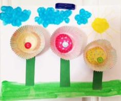 Flower Fun with Baking Cups