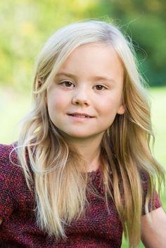 Prinses Ariane,7 jaar oud, najaar 2014