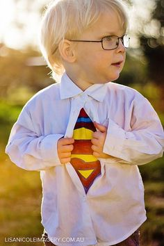 Awesome portrait idea for my little Super Man!!! @ Happy Learning Education Ideas