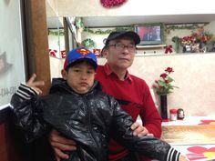 Mi esposo y mi nieto Alessandro