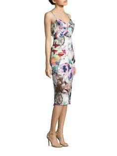 1bc1ccc8 Lolah Butterly-Print Dress by Black Halo at Gilt Crepe Dress, Ruffle Dress,