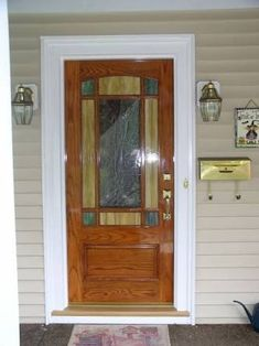 Beautiful Stained Glass Entrance Amp Doors