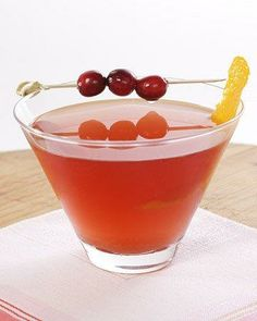 Cranberry Cosmopolitan Recipe