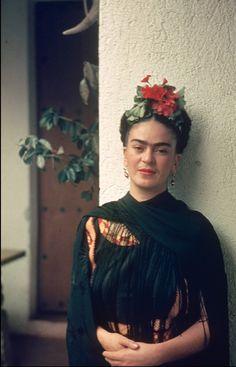 Frida at Coyoacán