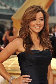 Alyson Hannigan hair cut