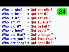 Les phrases les plus utilisées en anglais ● The Most used phrases in English ✪ #24 - YouTube Basic French Words, How To Speak French, French Expressions, French Basics, Learn French Beginner, How To Apologize, French Lessons, English, French Language