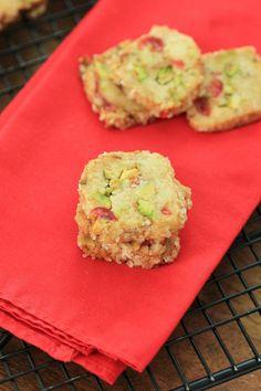 Cherry Pistachio Ice Box Cookies (3) (Small)