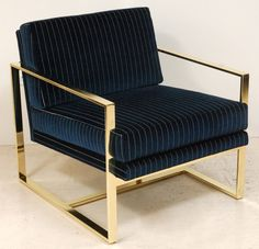 Milo Club Chair by Lawson-Fenning | From a unique collection of antique and modern armchairs at https://www.1stdibs.com/furniture/seating/armchairs/