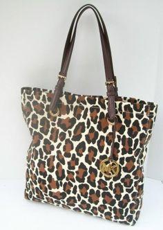 Micheal Kors Cheetah Print Purse,75% Discount OFF!
