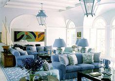 Colorful Beach House Interior Design by Diamond Baratta Design ...
