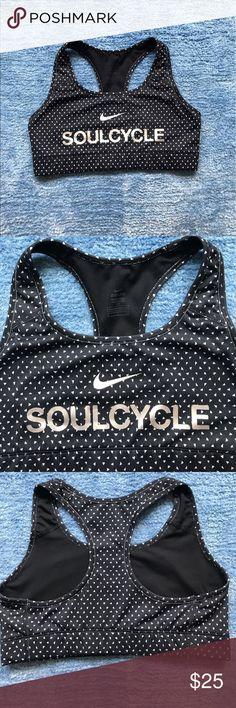 Soul Cycle Nike Sports Bra Black and white Soul Cycle & Nike sports bra Nike Intimates & Sleepwear Bras