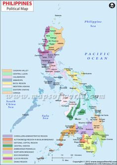 Philippines Map / my son james and my new daughter in law were married in the phillipines 10/20/12...