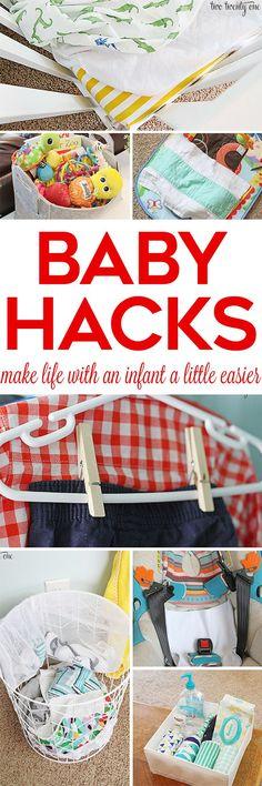GREAT baby hacks! Ti...