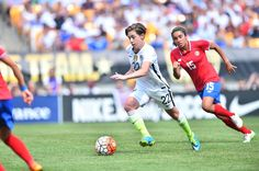 Meghan Klingenberg vs. Costa Rica, Pittsburgh, Aug. 16, 2015. (U.S. Soccer)