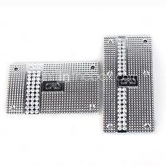 2 PCS Luxury Crystal Glitter Car Pedals/Car Run Boards-Silver