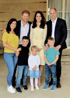 The Cambridges. — Prince Harry, The Duke and Duchess of Cambridge...