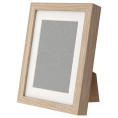 Ribba frame white stained oak effect ikea size for Cornice 30x45 ikea