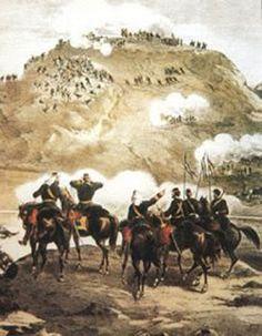 PASADO DEL PERÚ: LA GUERRA DE CHILE CONTRA PERÚ Y BOLIVIA