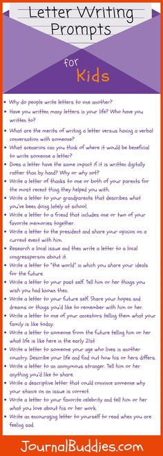 These letter writing prompts for kids begin with a few guiding questions to help students explore the value of the written letter. Writing Prompts Funny, Writing Prompts For Writers, Writing Topics, Picture Writing Prompts, Writing Strategies, Writing Lessons, Writing Activities, Writing Ideas, Language Activities