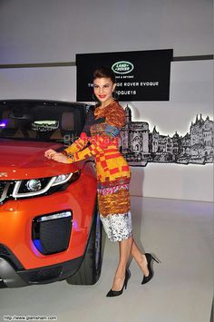 Jacqueline Fernandez at car launch