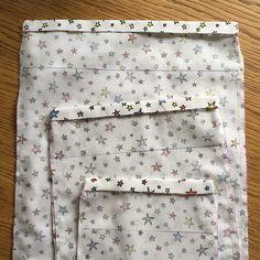 trait (celui à du haut) et marquez le pli Drawstring Bag Diy, Sewing Online, Sewing Accessories, Handmade Bags, Craft Projects, Blog, Crafts, Moment, Balance