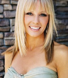 Beauty Medium Bangs Hairstyle for Women from Kate Paul