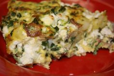Several months ago, a friend of mine brought a delicious frittata to a Bible study potluck. It was the first dish on the table to be completely eaten and gone, even before everyone had gotten a fir…