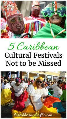 Carnivals and festivals are a great way to experience the rich culture that the Caribbean offers. Travel to the Caribbean and check out these 5!