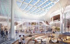 underground mall design - Google Search