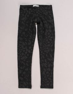 These black Replay leggings for kids have an all-over burn out animal print. Patterned Leggings, Black Leggings, Winter Essentials, Junior Outfits, Airport Style, Replay, Sweatpants, Layering, Girls