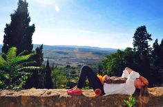 Under the Tuscan sun #tuscany #winetour #italy #scenic