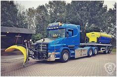 SCANIA: Scania T 500 V8 Fokke Koppert (winterdienst)